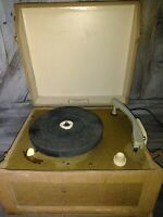 ANTIQUE vintage Ultratone model 515 RECORD PLAYER turntable Portable READ* RARE