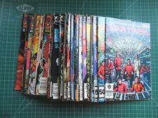 MEGA LOT OF 37 DC STAR TREK TITLES TOS, DS9, VOYAGER, X-MEN LOTS OF #1'S