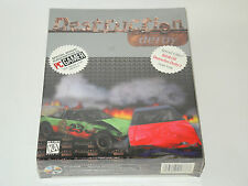 DESTRUCTION DERBY new factory sealed big box PC game