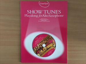 Show Tunes Guest Spot for Alto Saxophone brand New with CD Fast and Cheap