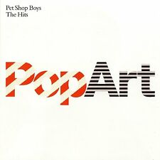 PET SHOP BOYS: POP ART THE GREATEST HITS 2x CD THE VERY BEST OF / NEW
