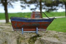 Vintage Antique Live Steam German Built Toy Boat-Bing? Marklin Schoenner Carette
