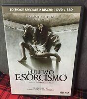 L'Ultimo Esorcismo DVD + Blu Ray Eli Roth Daniel Stam Ex Noleggio Come da Foto N