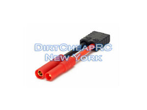 High Current Adapter: Traxxas Female to HXT4.0 Redcat 4mm 12AWG TRX ID ESC LiPo