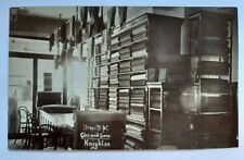 More details for knighton ultra rare rp clee & sons dress dept interior (now knighton museum)