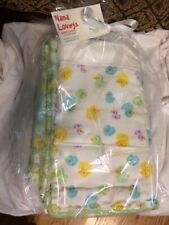 Price Lowered - Ducks Baby Blankets and Burp Cloths