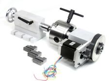 4th Axis with Tail Stock & Driver for 4th Axis Kit for CNC Router Machine