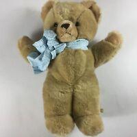 "Eden Toys Plush Bear VTG Large 20"" Stuffed Teddy Toy Cute Cuddly Happy Kids Gift"