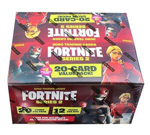 Fortnite Series 2 Trading Cards Fat Pack Box | 12 Packs