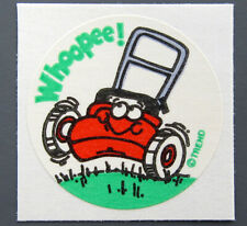 Vintage TREND Matte Scratch and Sniff Stinky Stickers - GREEN LAWN