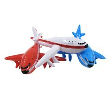 3pc Inflatable Airplane Set Swim Pool Water Float Blow Toy Floatie Party Decor