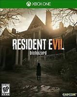 Brand New Resident Evil 7 Biohazard (Microsoft Xbox One, 2017)