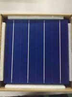 Solar Cell Panel 10 Pcs Efficiency Photovoltaic Polycrystalline DIY PV Silicon