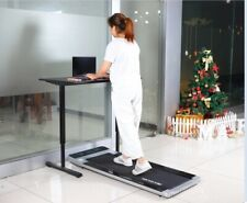 Treadmill Smart Electric Folding Walking Pad Portable Gym Cardio Excercise White