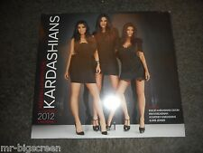 KEEPING UP WITH THE KARDASHIANS - 2012 WALL CALENDAR - BRAND NEW & SEALED!