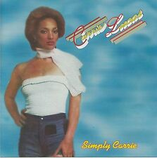 Carrie Lucas – Simply Carrie        New cd  Canada import.