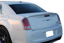 PAINTED CHRYSLER 300 SRT FLUSHMOUNT FACTORY STYLE REAR WING SPOILER 2011-2015