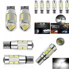 New T10 LED Auto Car Light Bulb 12V Interior Parking Projector Lens White 1Pc