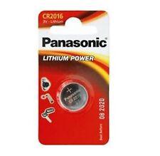 Paquete De 2 Panasonic CR2016 baterías de celda de moneda de litio 3V 2016 Batería