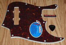 Fender Jazz Bass Pickguard 60's Series 4 Ply Tortoise Guitar Parts Pick Project
