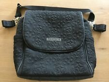 Petunia Pickle Bottom Diaper Bag Boxy Backpack Central Park North Stop Black