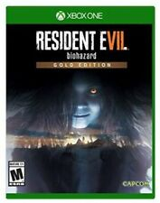 XBOX ONE XB1 VIDEO GAME RESIDENT EVIL 7 VII BIOHAZARD GOLD EDITION BRAND NEW