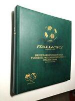 1990 Folder Libro Album Ufficiale FIFA Campionato Mondiale di Calcio Italia '90