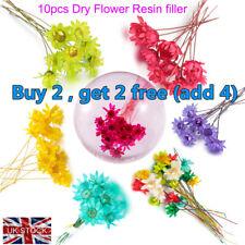 Relleno de resina seco Flor de Cristal Joyería Accesorios UV hacer rellenar materiales
