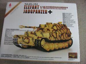 1/16 Scale Hooben Arkmodel R/C Full Function AFV German Jagdpanzer Elefant