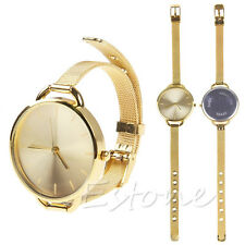 New Fashion Women Analog Dress Stainless Quartz Wrist Watches Ladies Girls Gift