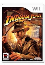 Wii & Wii U - Indiana Jones and the Staff of Kings **New & Sealed** UK Stock