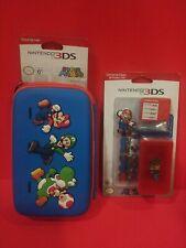 Super Mario Travel Case & Protection Kit for Nintendo 3DS 3DSXL DSi DSiXL