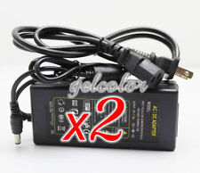 Lot 2 - Ac Adapter Power Supply & Cord Replacement Harmony Gelish 18G Led Lamp