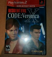 Resident Evil CODE: Veronica X (PlayStation 2 PS2, 2002) No Manual