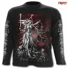 Spiral Long Sleeve Graphic T-Shirts for Men