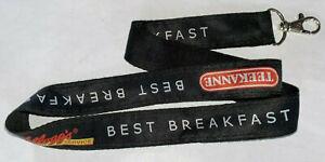 Kellogg´s Food Service Teekanne Best Breakfast Schlüsselband Lanyard NEU (E67)