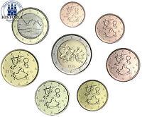 Finnland Euro KMS 2015 Kursmünzen 1 Cent bis 2 Euro lose im Münzstreifen
