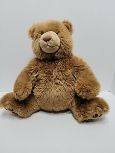 Kohls Cares Brown Bear Plush Stuffed Animal Gund #44184 Grizzly Teddy Bear