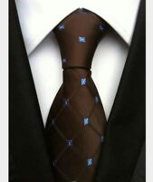New Black Blue Spot Mens Chinese Silk Tie Wedding UK Seller Father Son Gift Suit