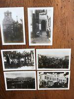 six - san remo ( italy ) 1931 photographs - including villa marsaglia !