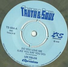 """LEE FIELDS Do You Love Me/Honey Dove 7"""" NEW GREY COLORED VINYL Truth & Soul The"""