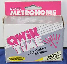 Qwik Time: Quartz, Digital Metronome (Qt-3), Superior Accuracy, 200+ Speeds New