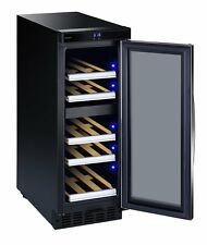 Dometic Winerefr.D15 Black Stainless Steel Wine Refrigerator