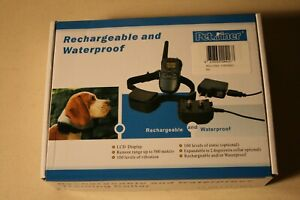 Petrainer ISPET998DR-2 Dog Training Collar for 2 Dogs