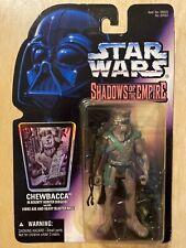 Star Wars Shadows of The Empire (1996) Chewbacca Bounty Hunter Figure