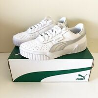 Puma Cali Metfoil Sneakers Womens Size 7 Leather New