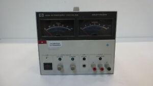 HEWLETT-PACKARD 6002A DC POWER SUPPLY 0-50V/0-10 AMPS 200W
