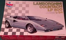 ESCI  - LAMBORGHINI COUNTACH LP 500 - PLASTIC MODEL KIT 1/24 - '80
