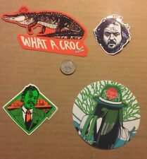 Tyler Stout New Sticker Set of 4 different hard to get stickers Sold Out Set 6