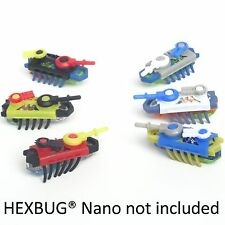 Bug Armor by Small Toy Gear - Black Fire / Silver Sky sets - fits HEXBUG Nano